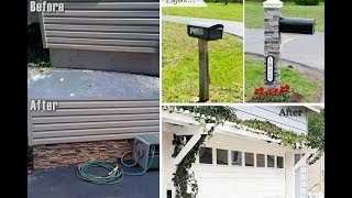 Gambar cover Top 40 Cheap Curb Appeal Ideas For Home 2018 | Before and After Landscaping Makeover For Small Yards