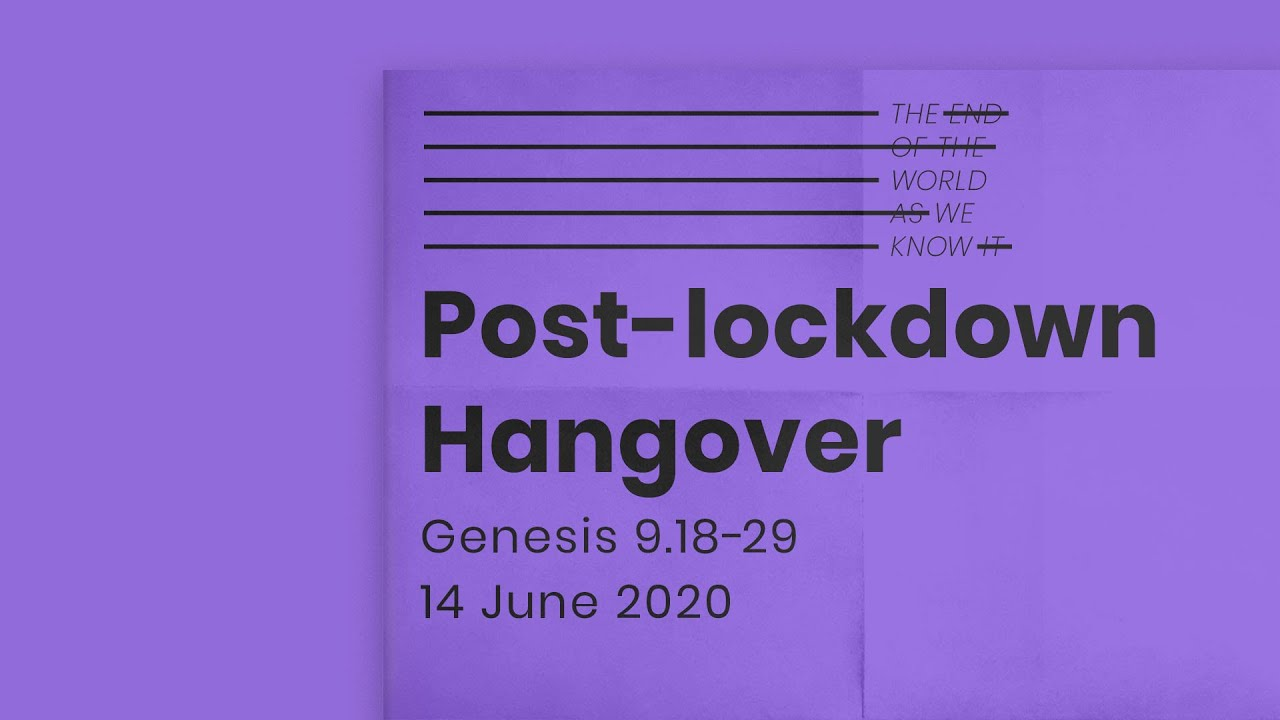 The end of the world as we know it // Post-lockdown Hangover Cover Image