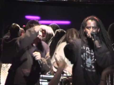 Abstract Rude, 2Mex, Busdriver & Eyedea - Frisbee Freestyles [LIVE]