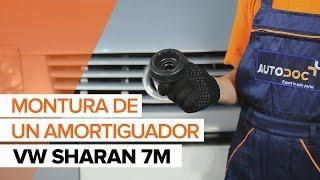 Cómo cambiar la copelas del amortiguador delantero en VW SHARAN 7M INSTRUCCIÓN | AUTODOC