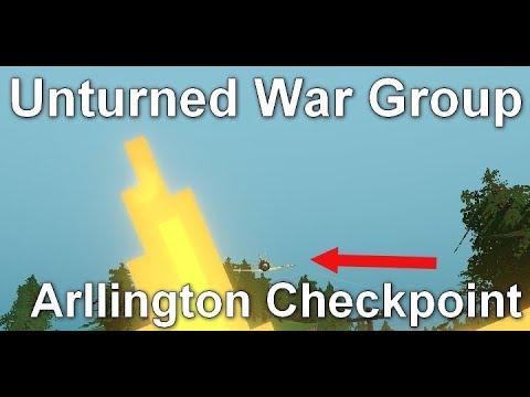 Unturned War Group - Arllington checkpoint (Patrol) - WW2 [CZ/SK]