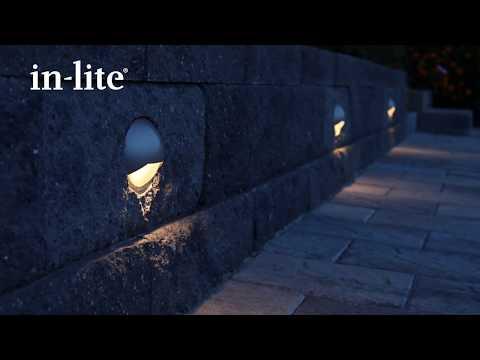 BLINK In lite LED veggmontert utelampe Uteplassen
