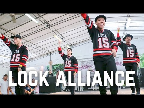 Lock Alliance (Singapore) | Special Showcase | RF Jam 2016 | RPProductions