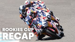 RED BULL MOTOGP ROOKIES CUP: Youngest riders meet in Jerez, Spain.