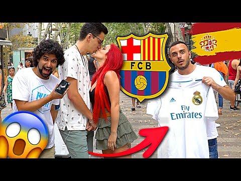 BACERESTI LA MAGLIA DEL REAL MADRID PER LEI? [TIFOSI BARCELLONA] w/Himorta