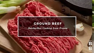 Easy Ground Beef From Frozen