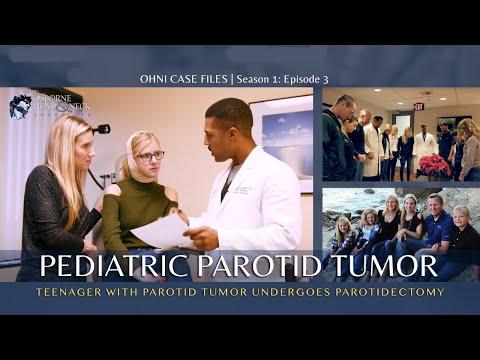 Teenager with Parotid Tumor Undergoes Parotidectomy: OHNI Case Files - Episode 3 - Ashley