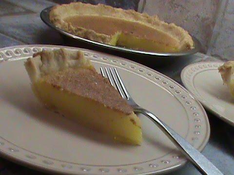 Lemon Lime Chess Pie