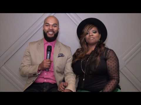 JJ Hairston & wife Trina talk about YOU'RE MIGHTY and AMAZING LOVE