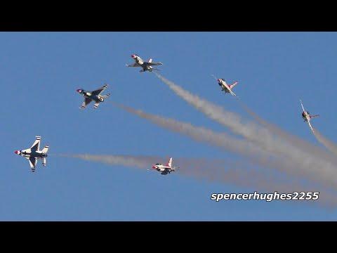 USAF Thunderbirds Nellis AFB 2019 Aviation Nation