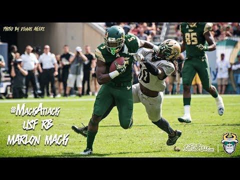 #MackAttack South Florida RB Marlon Mack Highlights 2016 (Beat by Braando)