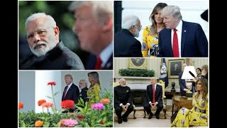 In Graphics: IN PICS: pm narendra modi meeting with donald trump In white house