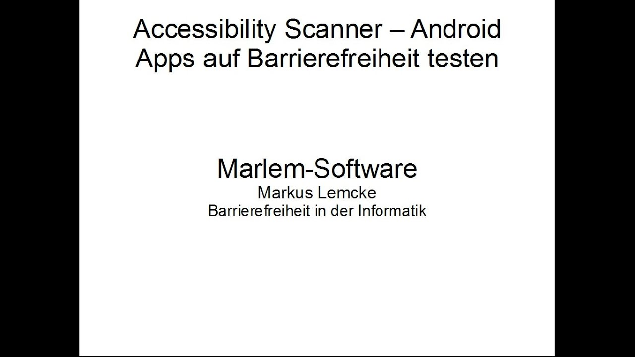 Apps Testen