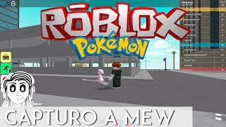 CAPTURO A MEW POKEMON GO ROBLOX - PROJET OLLIN