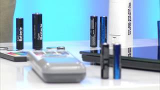 PEARL Batterie-Set 32-teilig mit Alkaline- und Lithium-Zellen