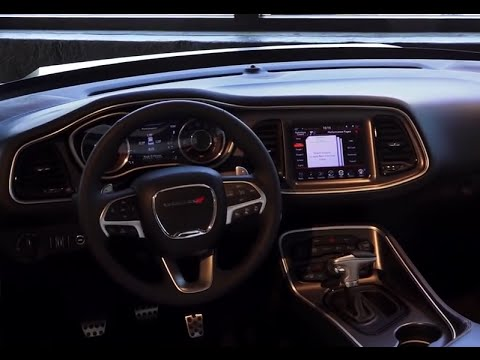 2015 Dodge Challenger Srt Hellcat Interior Presentation Youtube