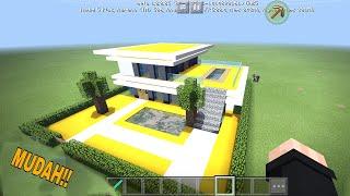 Cara membuat rumah mewah di minecraft ...