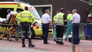 Verwarde man sticht brand in zorgcomplex in Dongen (Middelbrand) (2013-08-11)
