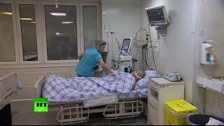 Раненный в Алеппо педиатр доставлен в госпиталь Бурденко в Москве
