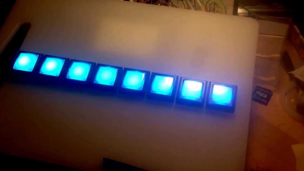 how to make a push button arduino