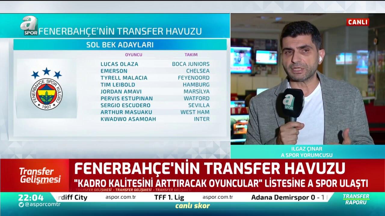 Ilgaz Çınar, Fenerbahçe'nin Transfer Havuzundaki İsimleri Yorumladı