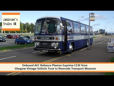 Onboard AEC Reliance Plaxton Suprime C53F from GVVT to Riverside Transport Museum