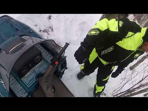Snowmobile Wipeouts