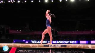 Seda Tutkhalyan 2015 Gymnastics World Championships Qualifications - Beam