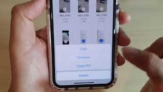 iPhone 11: How to Create a PDF Document From Multiple Pictures