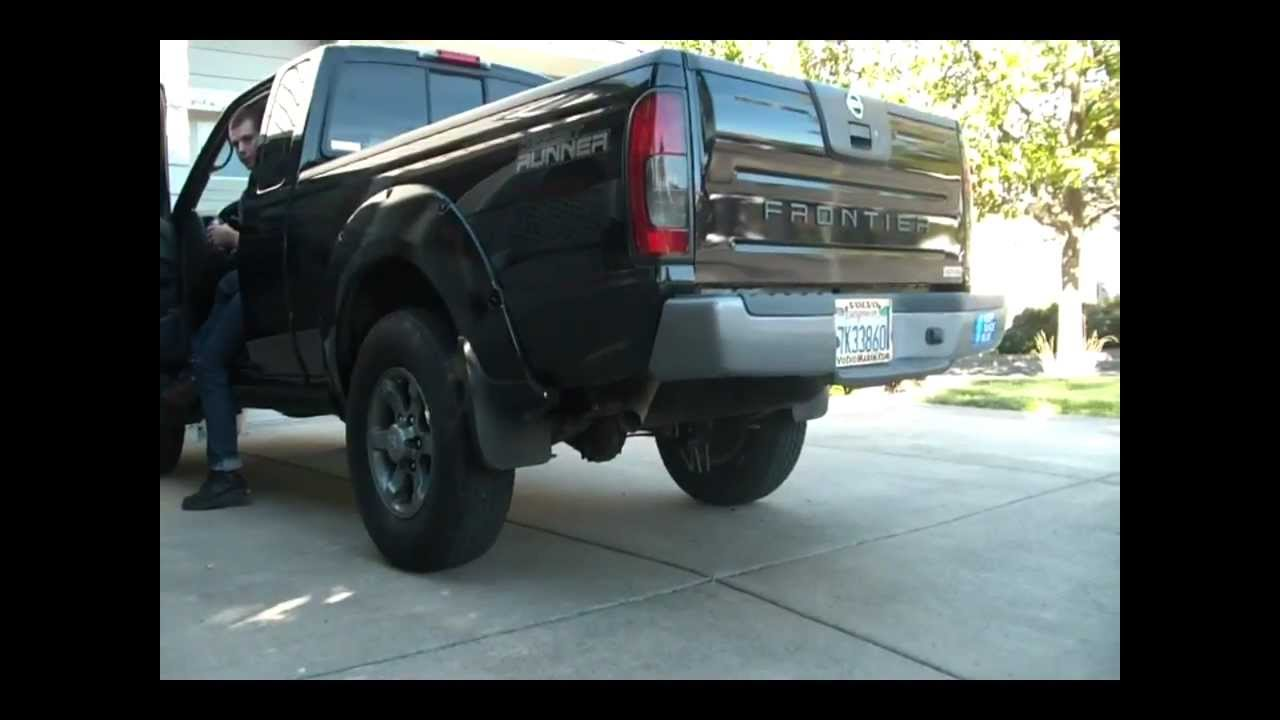 2004 nissan frontier desert runner w glasspack exhaust youtube vanachro Image collections