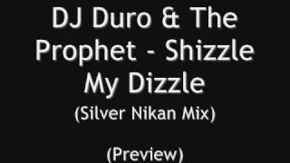 The Prophet & DJ Duro - Shizzle My Dizzle (Silver Nikan Mix)
