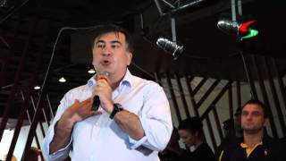 Саакашвили о Кивалове