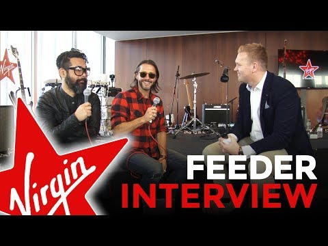 Feeder Chats To Tim Cocker | Virgin Radio
