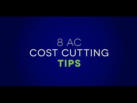 Air Conditioning Cost Cutting Tips