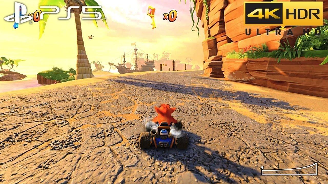 Download Crash Team Racing Nitro-Fueled (PS5) 4K HDR Gameplay