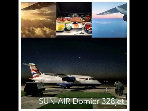 SUN-Air (British Airways), CBG-GOT, Dornier 328 jet Trip Report
