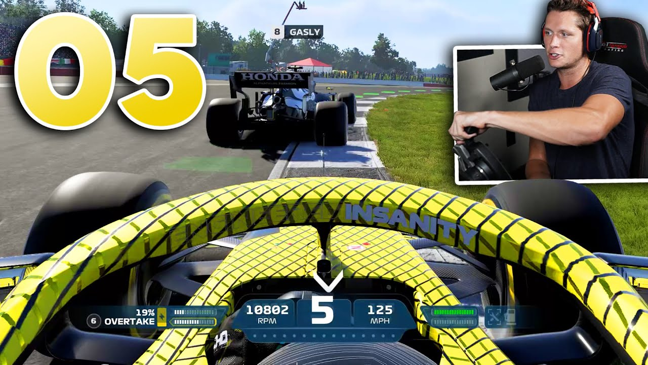 F1 2021 My Team Career - Part 5 - THE HARDEST FIGHT YET