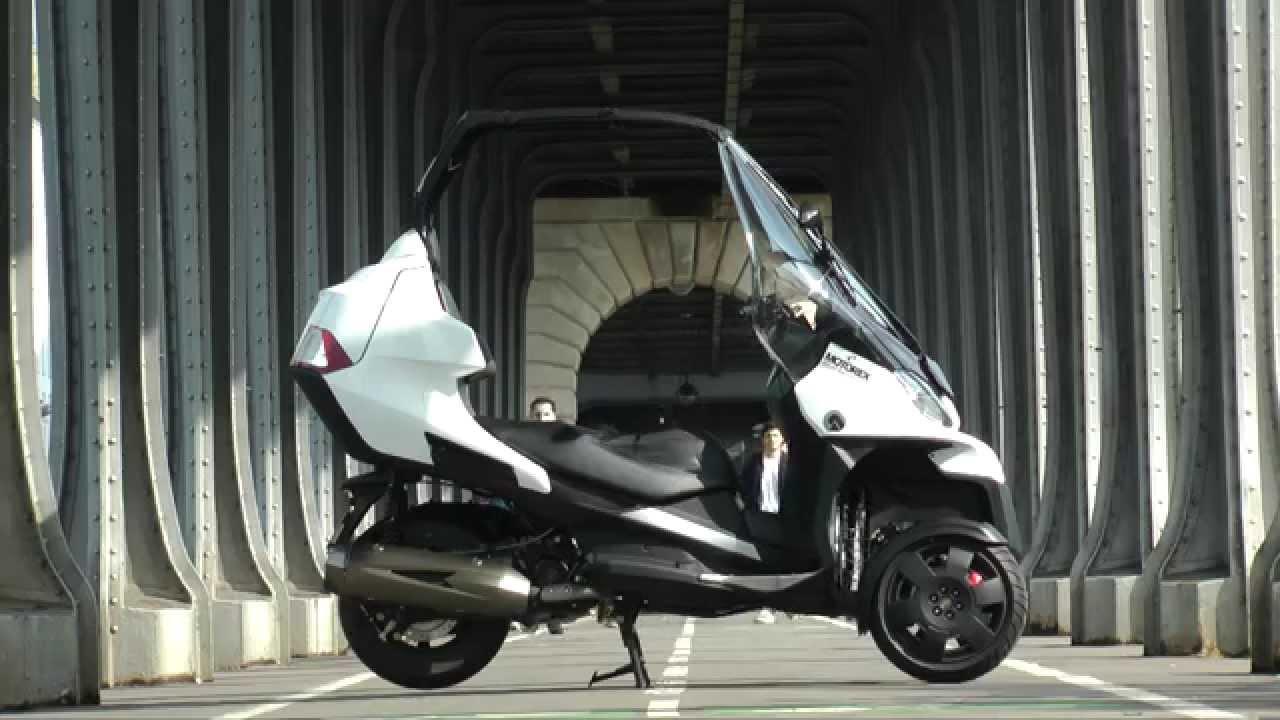 essai adiva ad3 300 scooter 3 roues version cabriolet. Black Bedroom Furniture Sets. Home Design Ideas