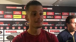 INTERVIEW   Nick Olij na FC Dordrecht - NAC (0-2)