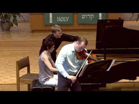 Peter McGuire and Bethel Balge - Sonata in A Major (César Franck, 1822-1890)