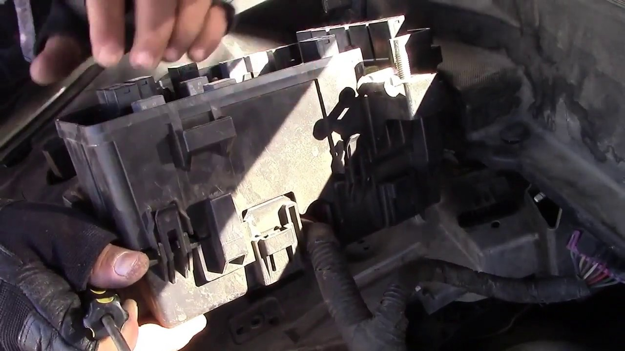 How To Replace The Upper Engine Mount On A Buick Enclave