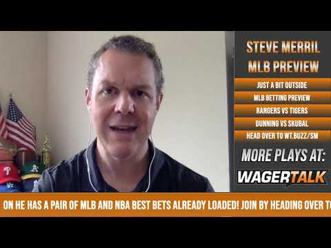 MLB Picks And Predictions | Tigers Vs Rangers Preview | Just A Bit Outside With Steve Merril