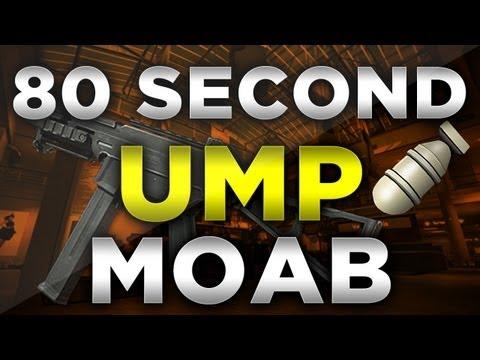 MW3: 80 Second UMP45 MOAB (Modern Warfare...