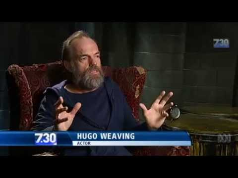ABC 7.30 interview with Hugo Weaving