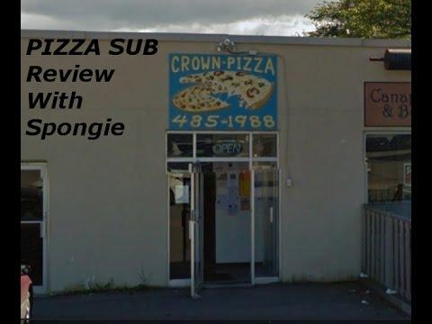 Crown Pizza Pictou, Nova Scotia Huge Pizza Sub