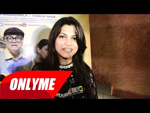 Arohi Mhatre talks about song in upcoming movie Murder Mestri