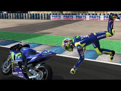 MotoGP 17 - Crash Compilation (PC HD) [1080p60FPS]