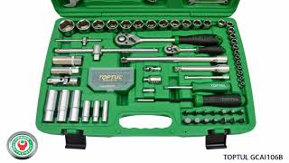 Обзор набора комбинированного профессионального инструмента Toptul GCAI106B на 106 предметов.(, 2018-05-02T07:55:57.000Z)