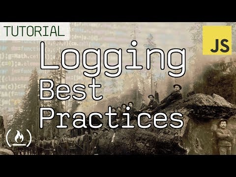 Logging in JavaScript Best Practices