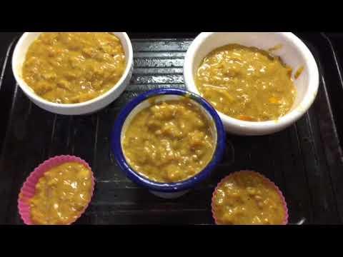Autumn pumpkin spice persimmon bread pudding